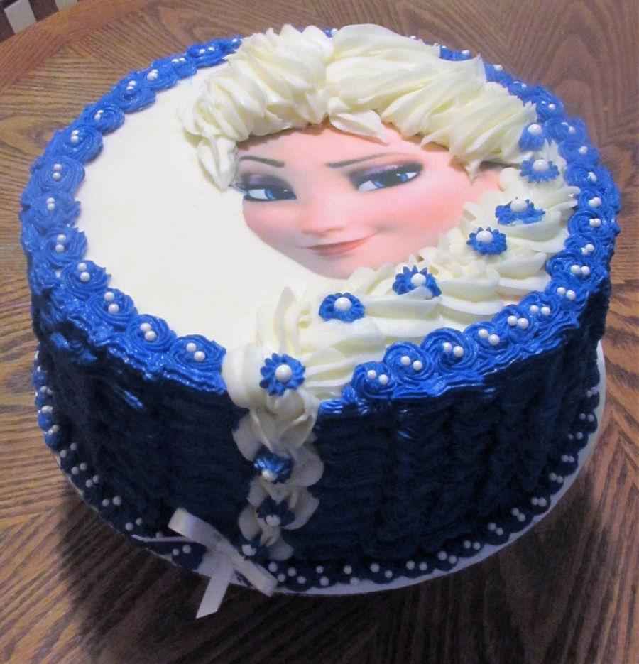Elsa Cake on Cake Central