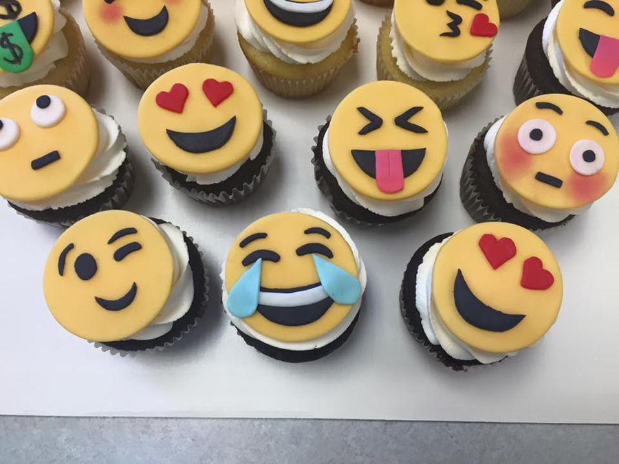 Emoji Birthday Cake Toppers