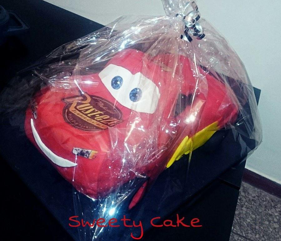 flash macqueen cake
