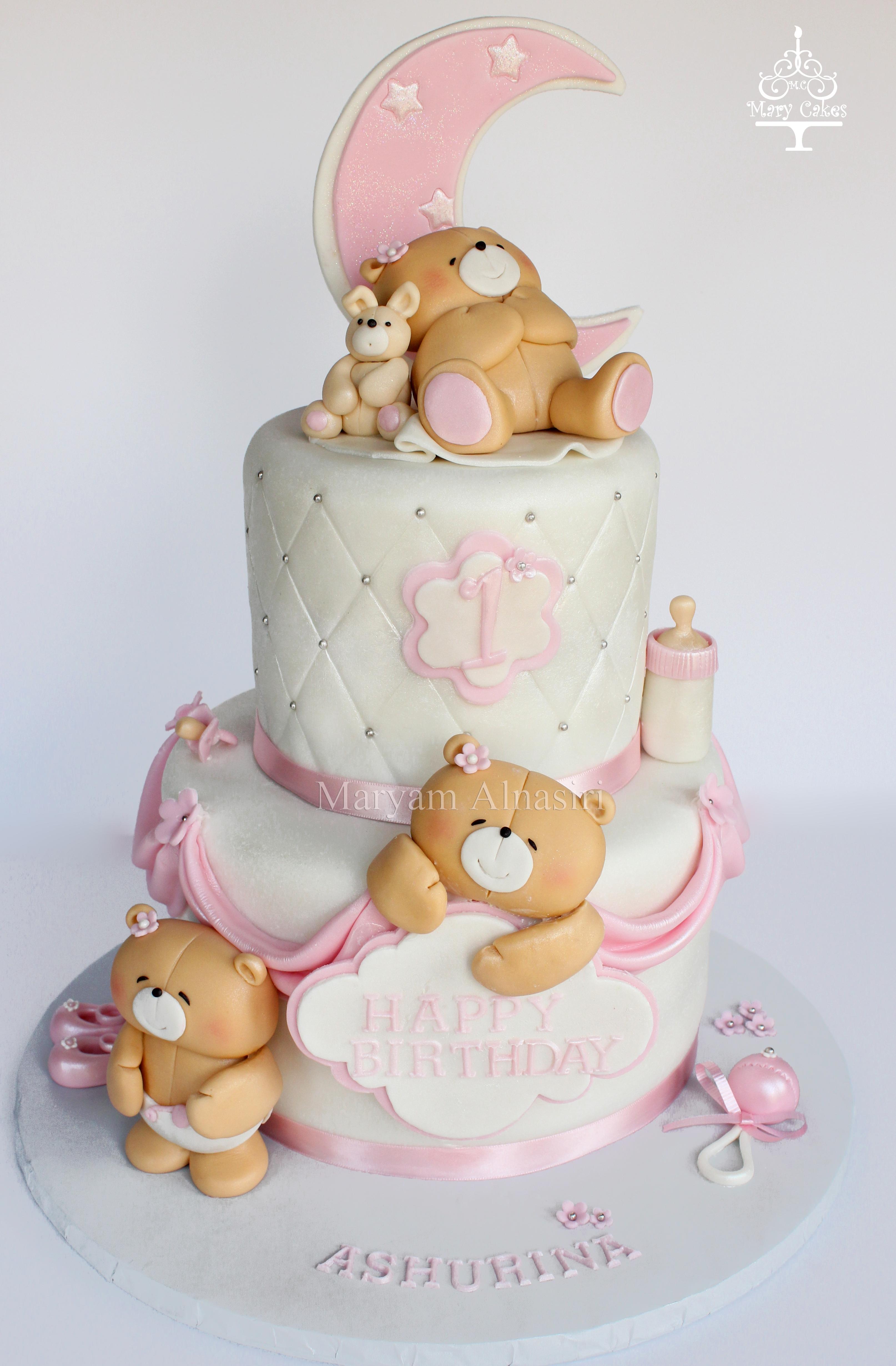 Forever Friends Bears Themed Cake Cakecentral Com