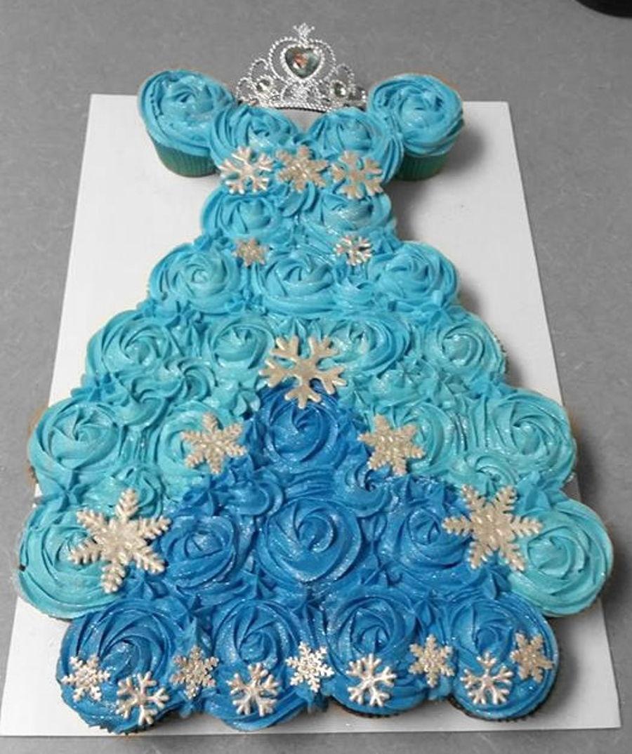Dress Shaped Cake
