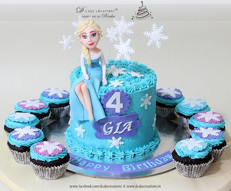Frozen Theme Cakes Cakecentral Com