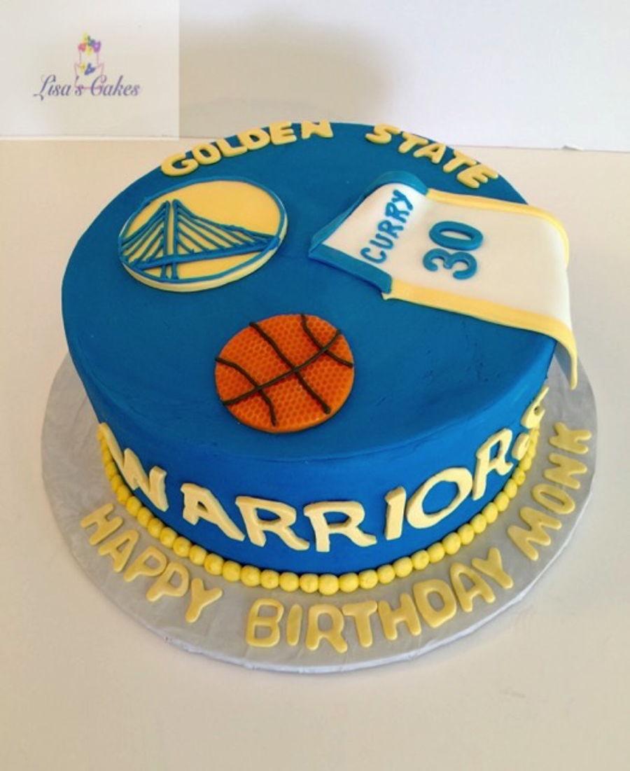 Golden State Warriors Birthday Cake Ideas