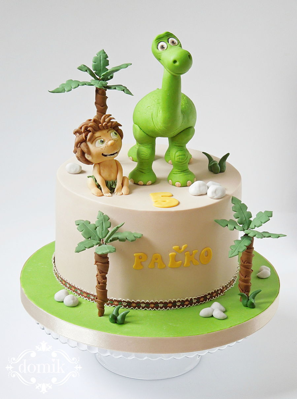 Good Dinosaur Cake - CakeCentral.com