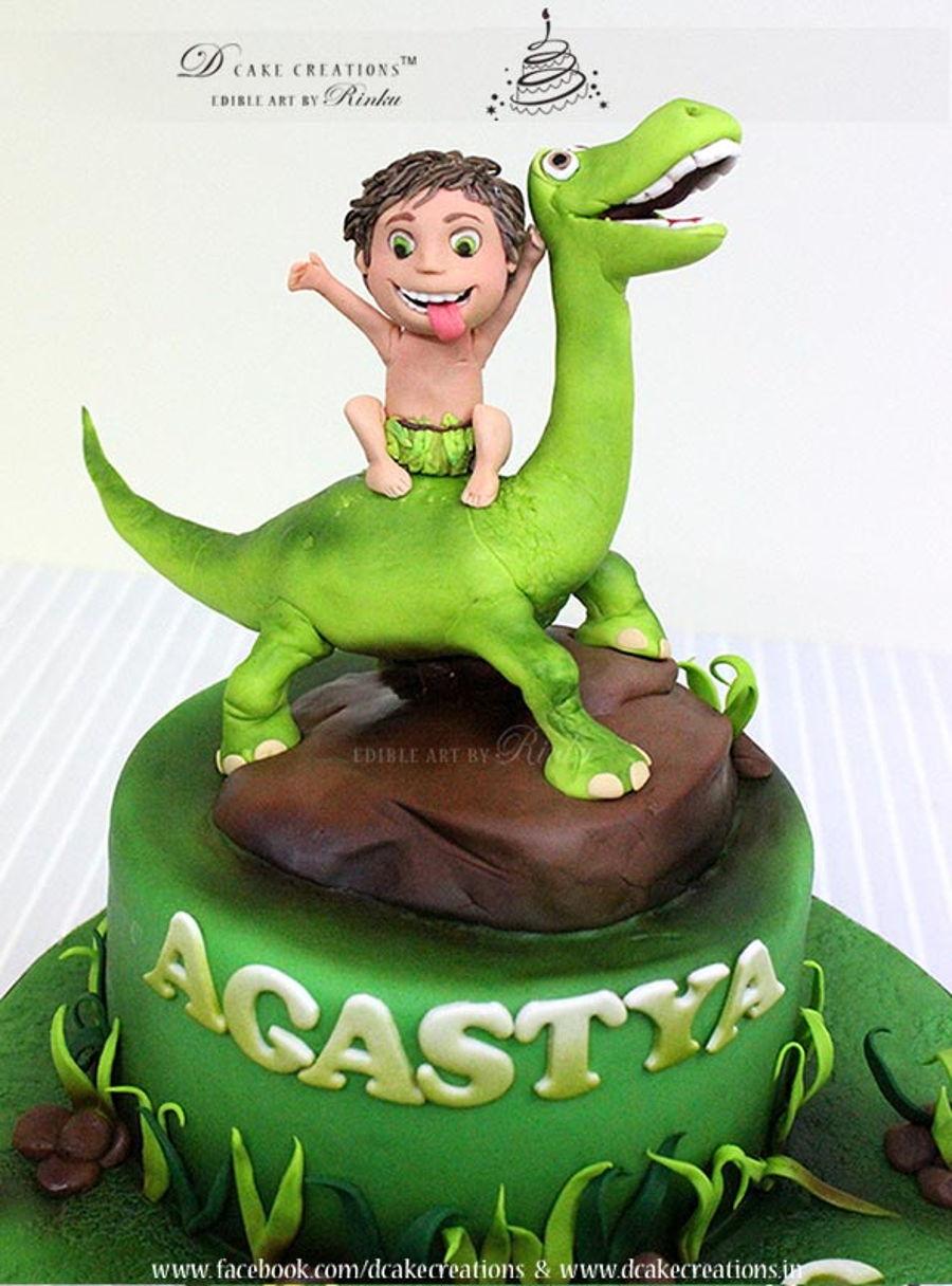 Good Dinosaur Cake Decorations : Good Dinosaur Cake - CakeCentral.com
