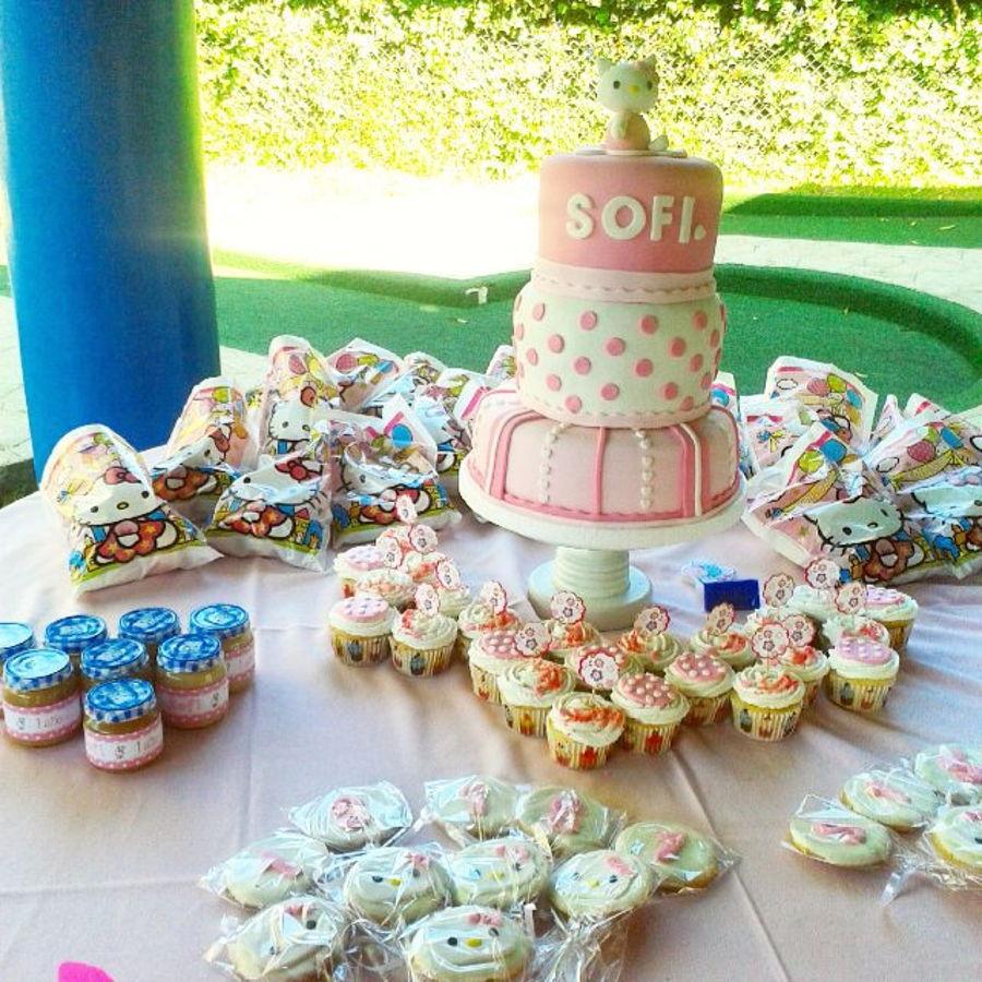 Cake Design Guatemala : Hello Kitty Cake Pastel Guatemala Pink Girl - CakeCentral.com