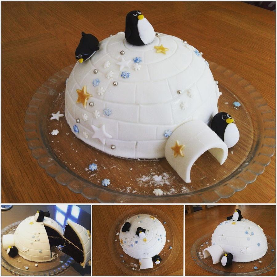 Igloo Cake Cakecentral Com