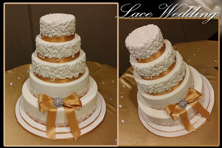 wedding cake lace molds lace mold wedding cake cakecentral 23054