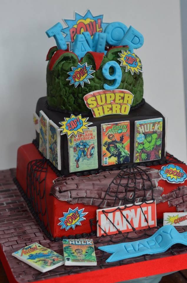 Marvel Cake Cakecentral Com