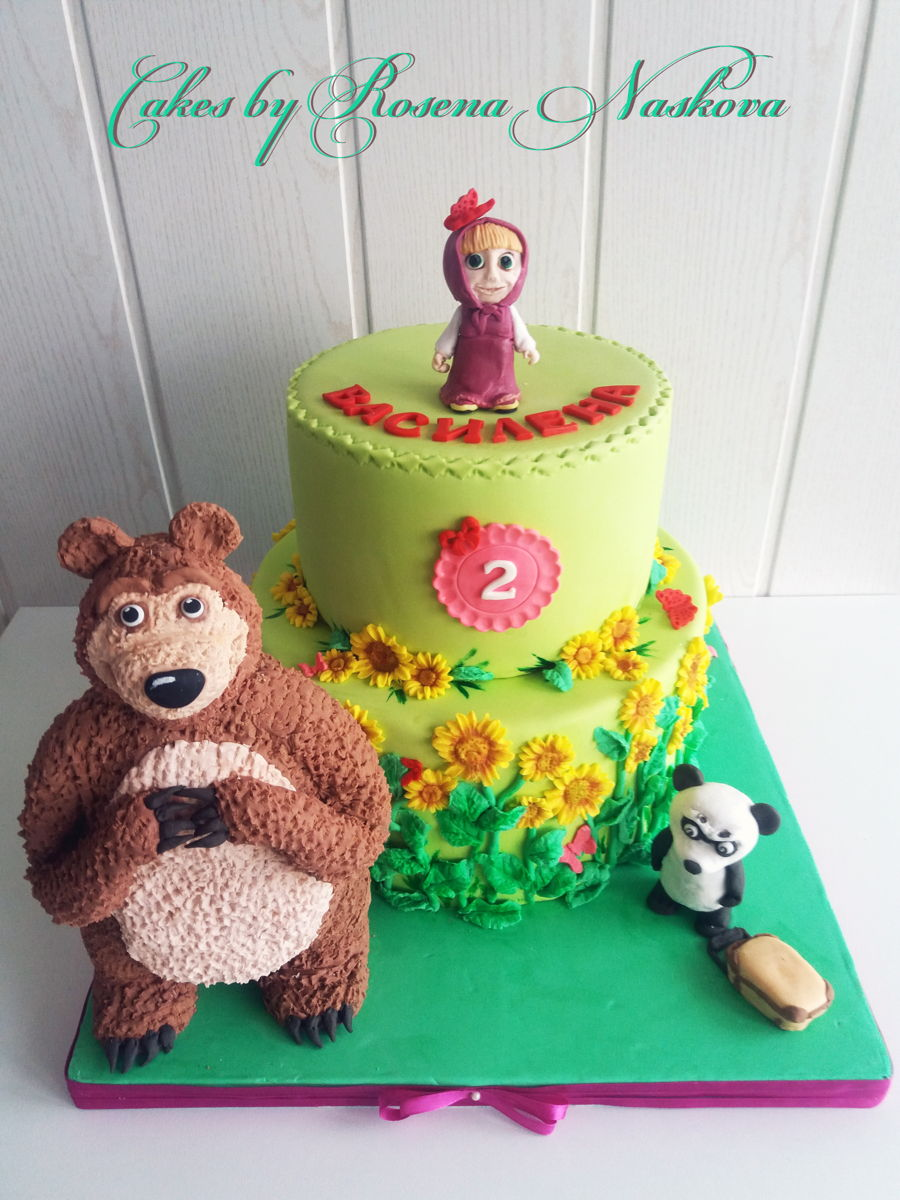 Masha And The Bear Cake CakeCentralcom