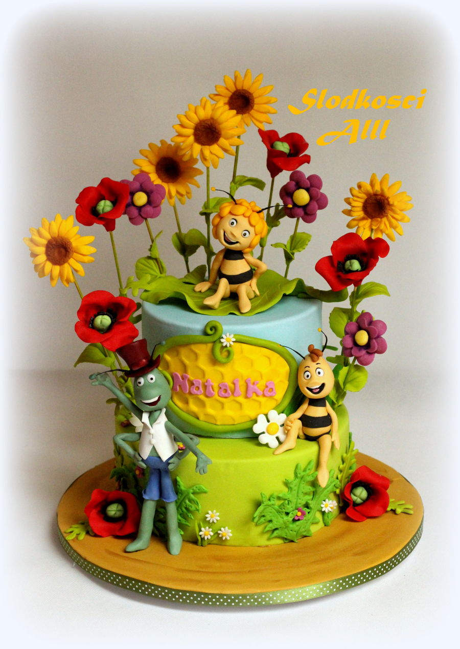 Maya The Bee Cake Cakecentral Com