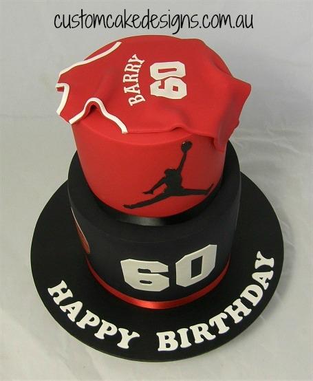 Michael Jordan 60Th Cake CakeCentralcom