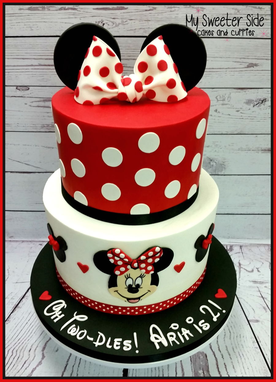 Minnie Two Dles Cake Cakecentral Com