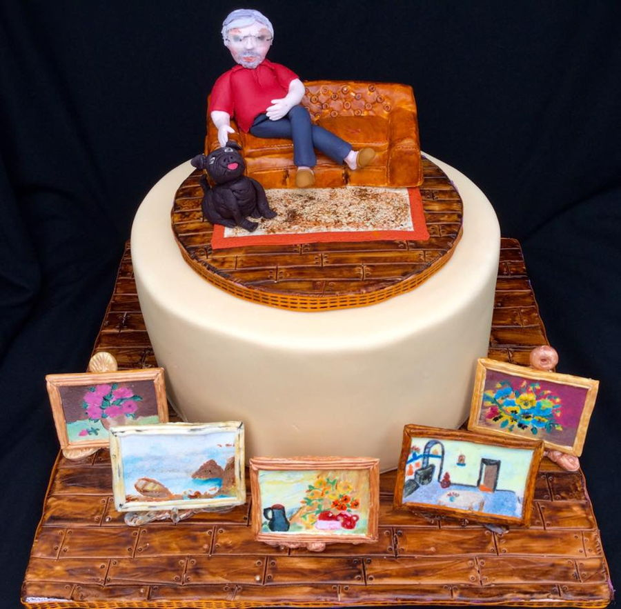 My Brother's Birthday Cake - CakeCentral com