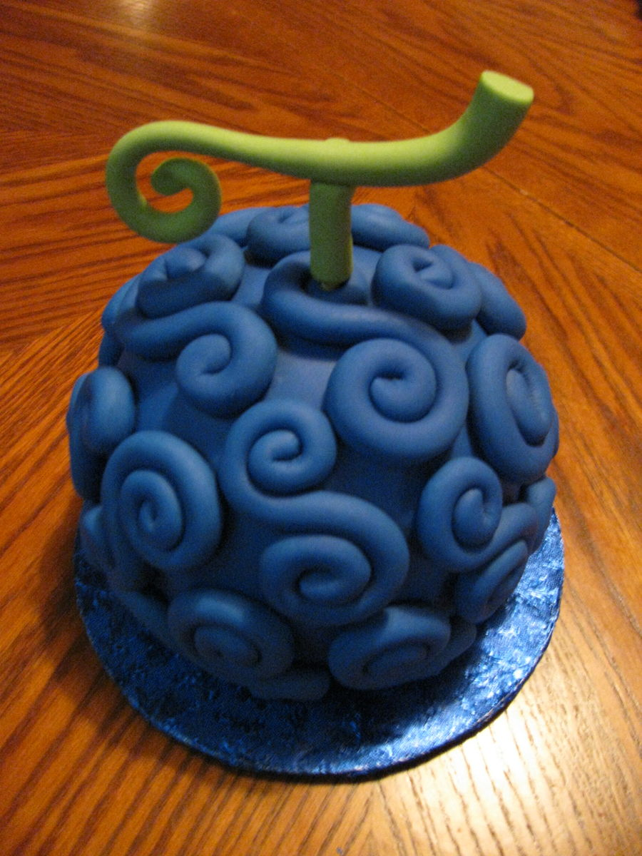 One Piece Devil Fruit Gomu Gomu Cake Cakecentral Com