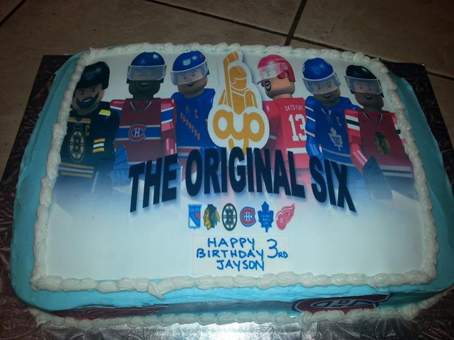 Original Six Cake on Cake Central