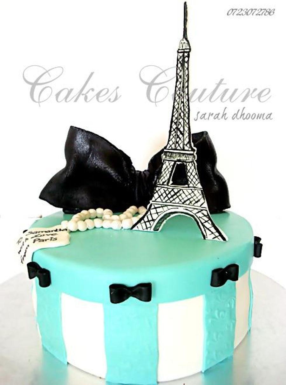 Sensational Paris Vintage Box Cake Cakecentral Com Personalised Birthday Cards Akebfashionlily Jamesorg