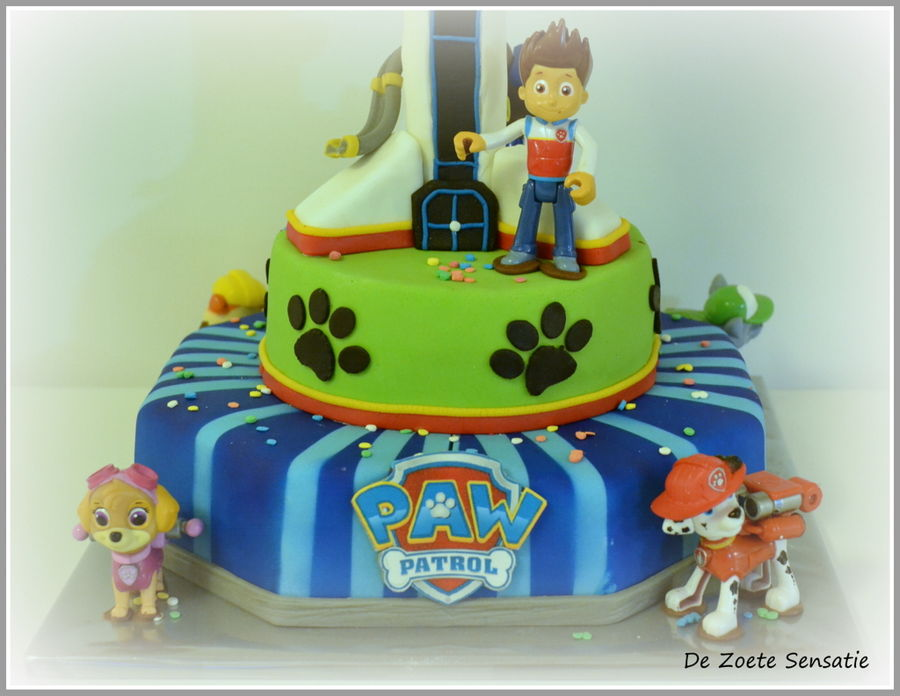 Pawpatrol Lookout Tower Cakecentral Com