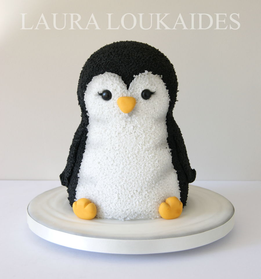 Penguin Cake Decorations