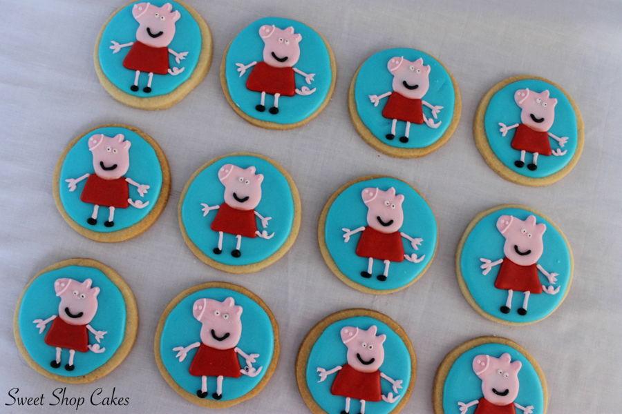 Peppa Pig Sugar Cookies Cakecentral Com