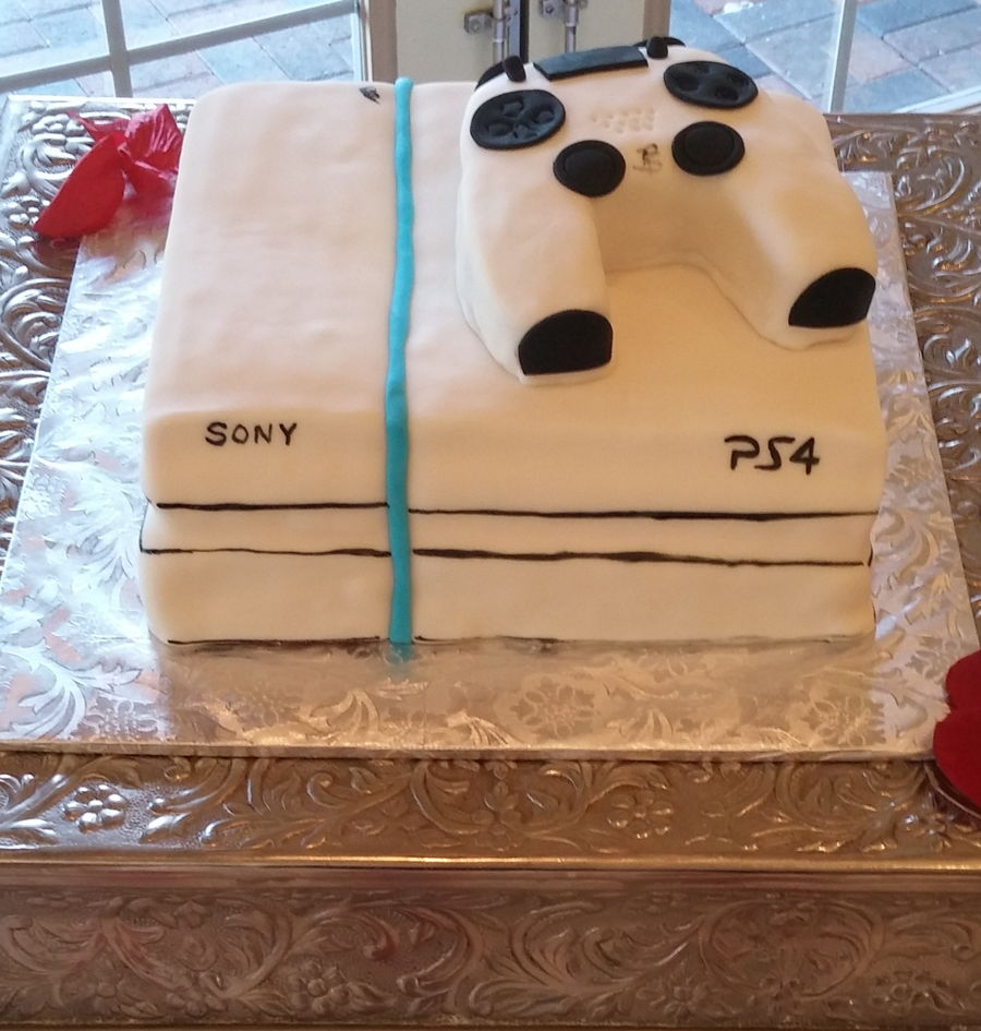 Playstation 4 Cake On Central