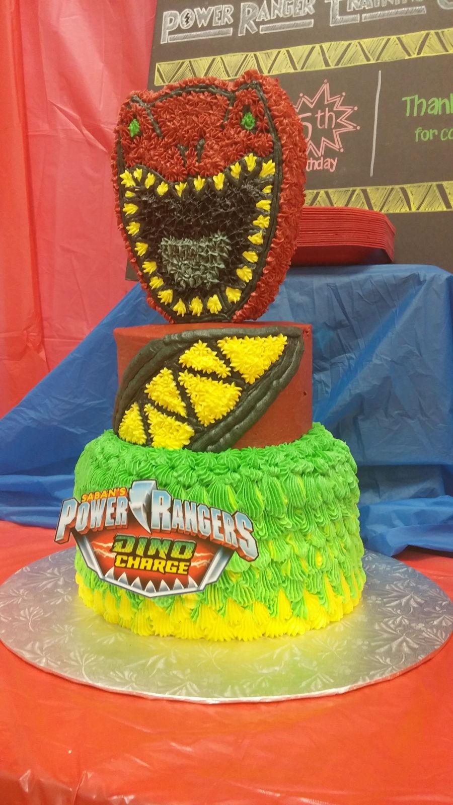 Power Rangers Dino Charge Cake