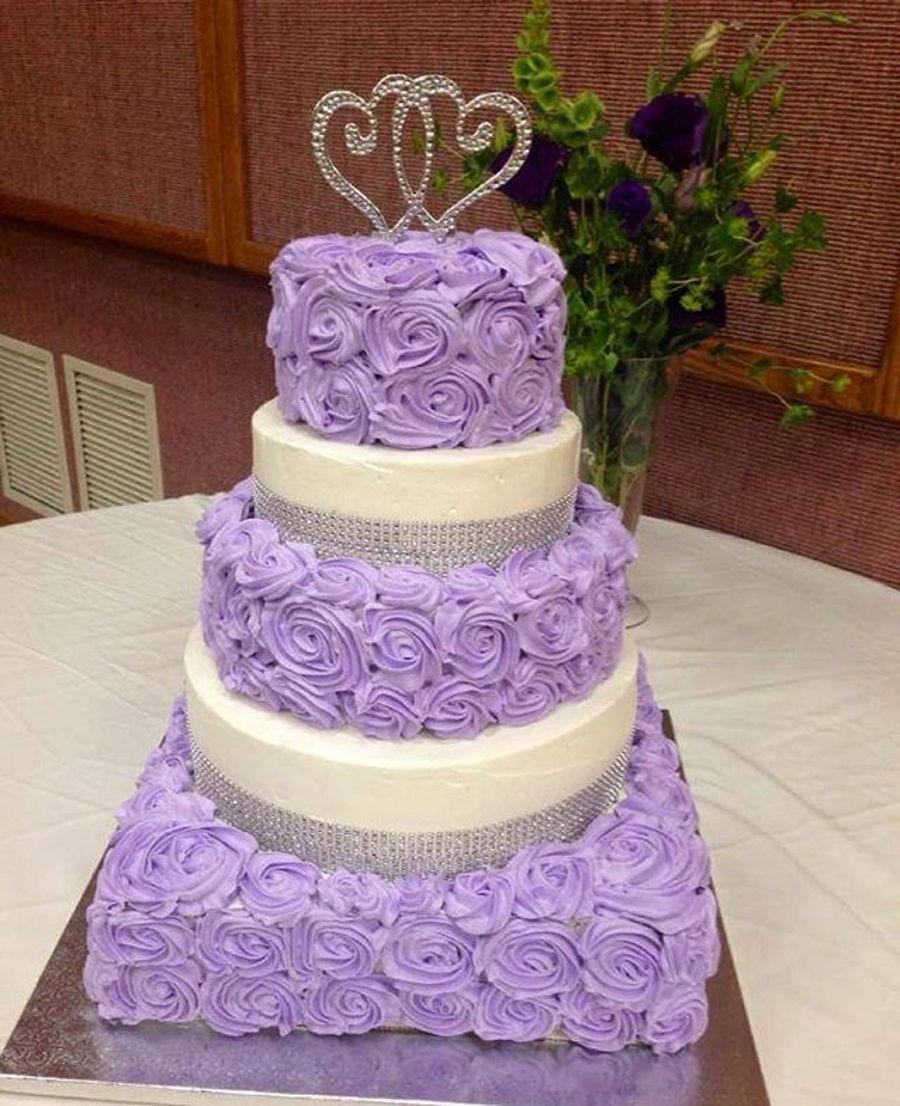 Rosette Wedding Cake Cakecentral Com