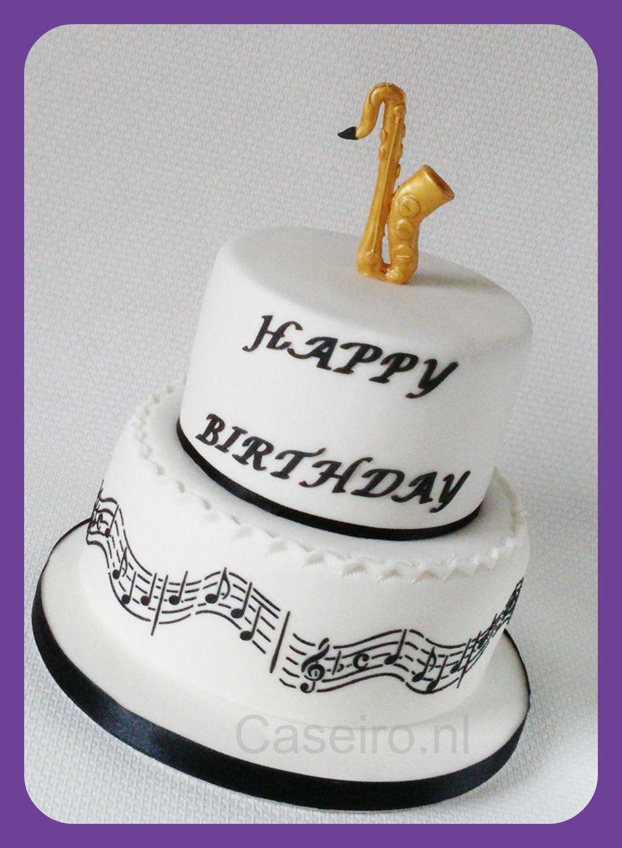 Saxophone Cake Cakecentral Com