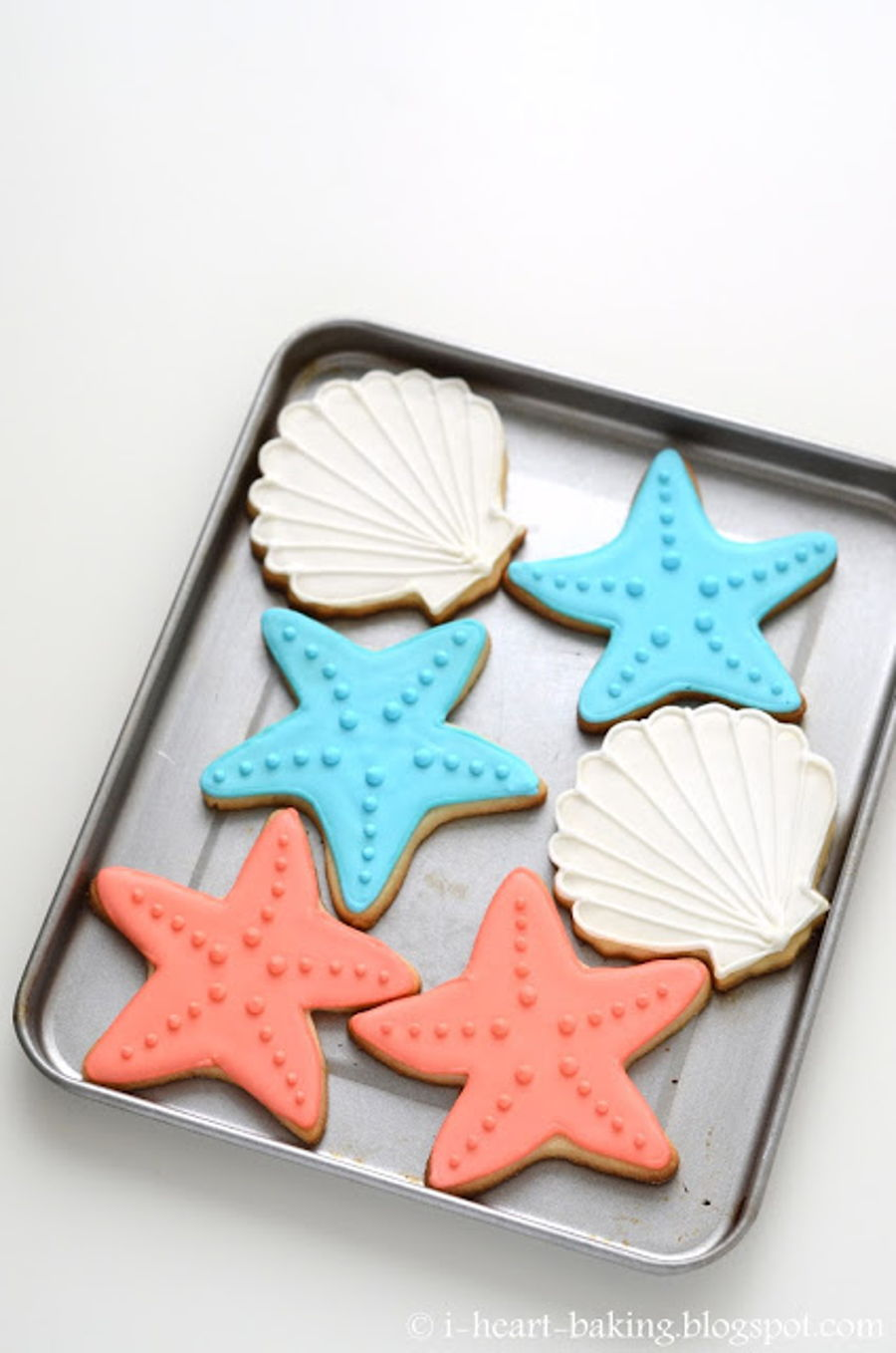 Seashell Starfish And Seahorse Cookies Cakecentral Com