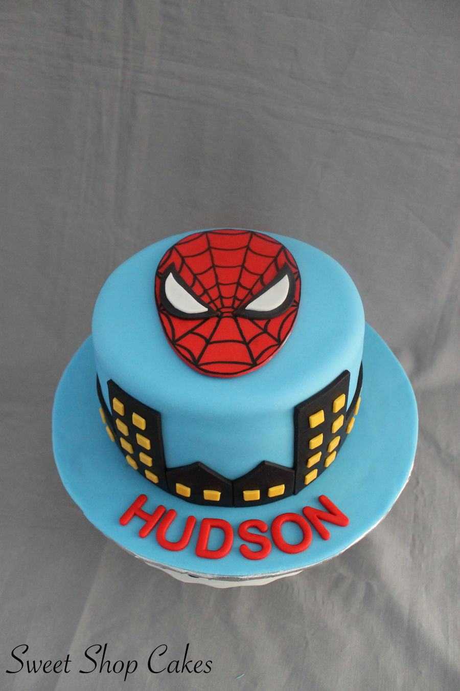Spiderman Themed Birthday Cake Cakecentral Com
