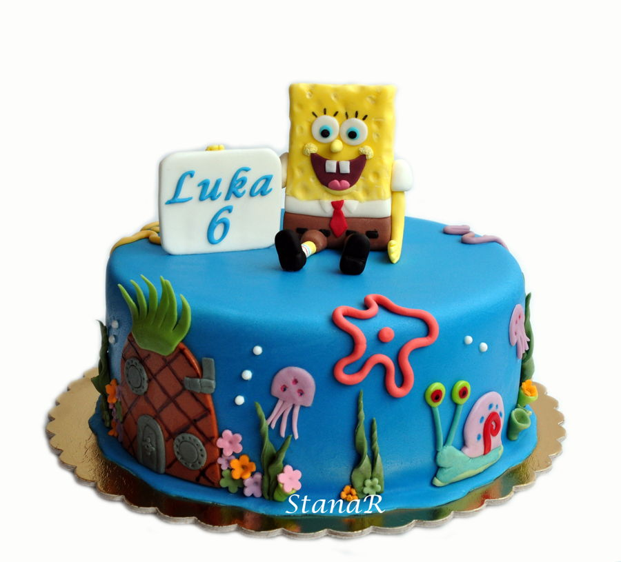 List of Synonyms and Antonyms of the Word spongebob cake