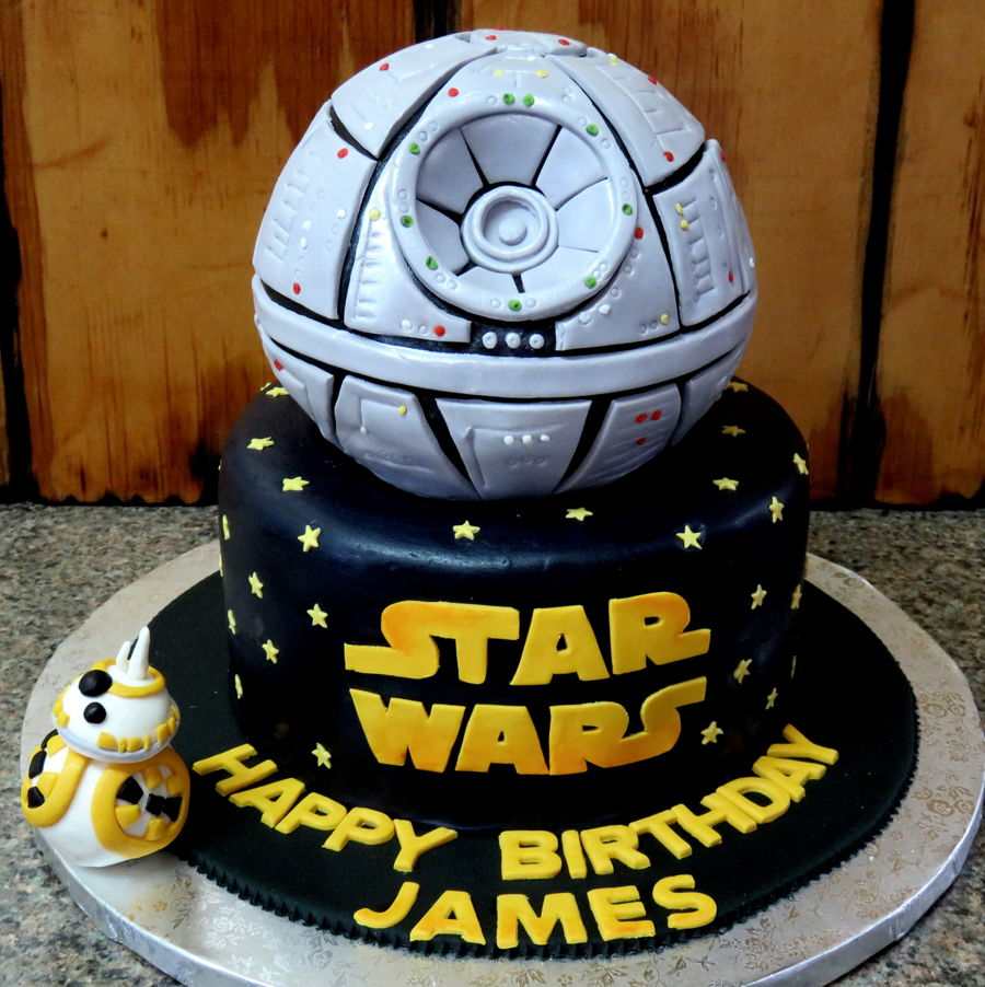 Star Wars Themed Birthday Cake Cakecentral