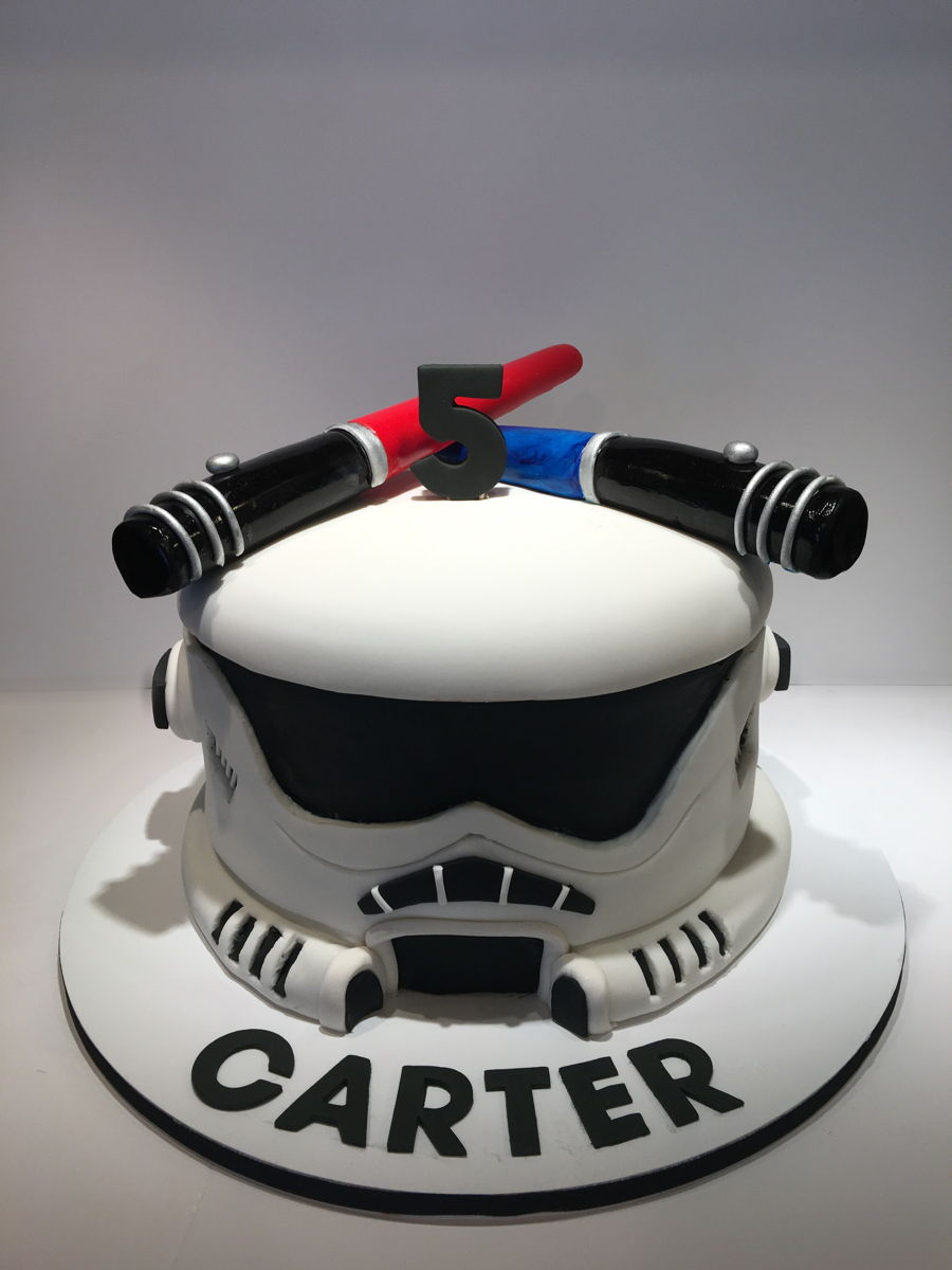 Stormtrooper Cake Recipe