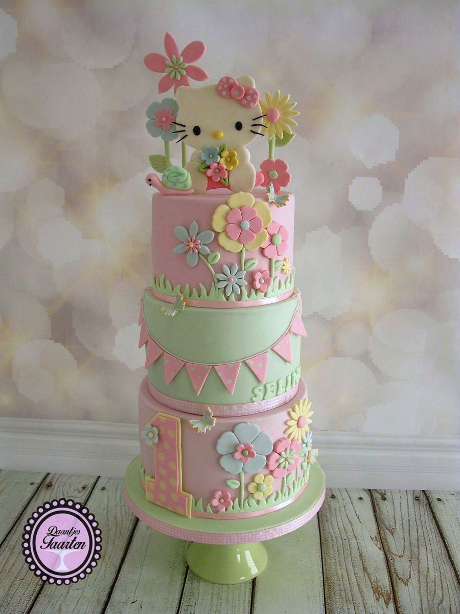 Sweet Hello Kitty on Cake Central