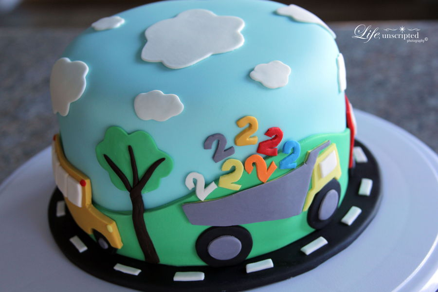 Two Year Olds Birthday Cake CakeCentralcom