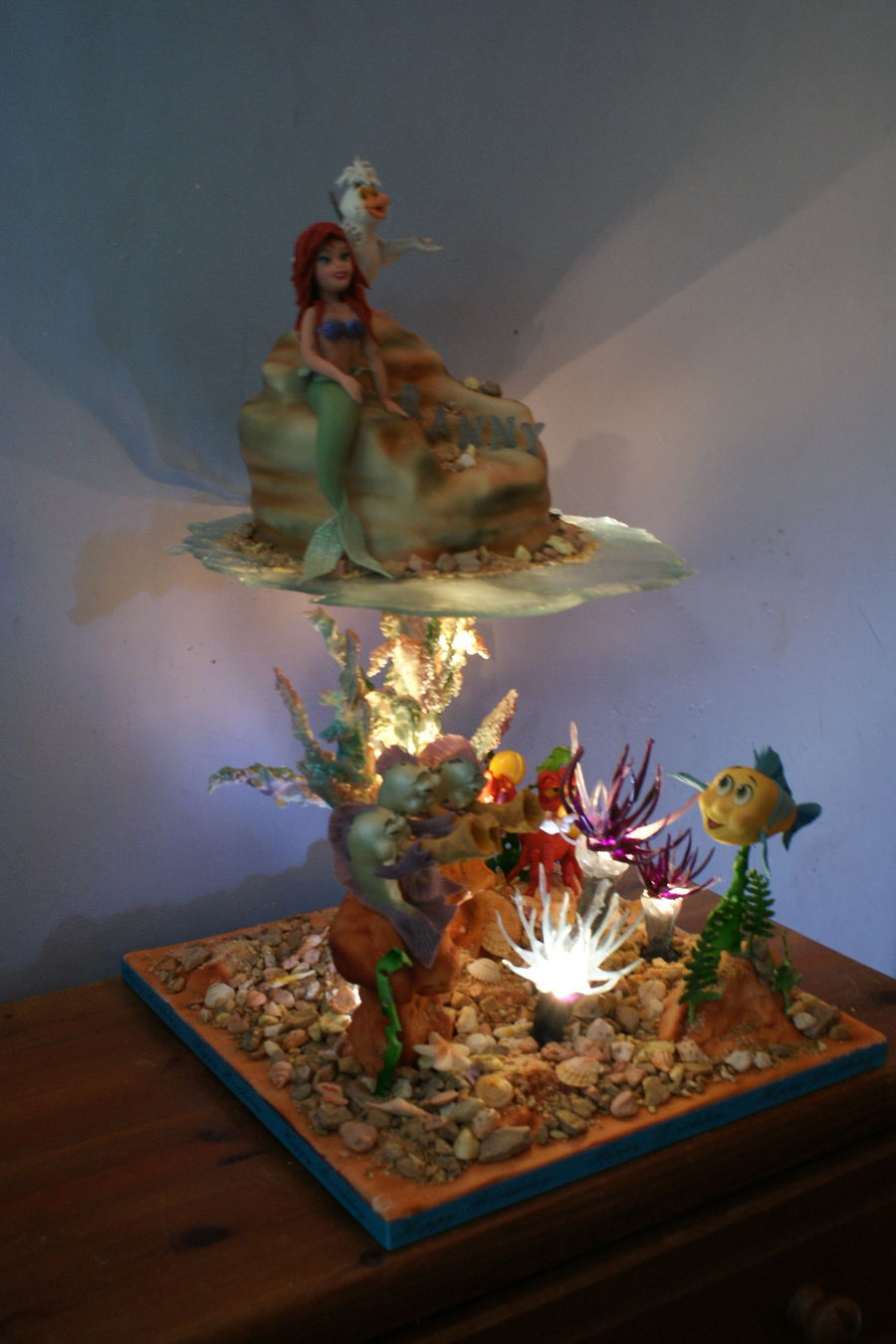 Under The Sea Little Mermaid Cakecentral Com