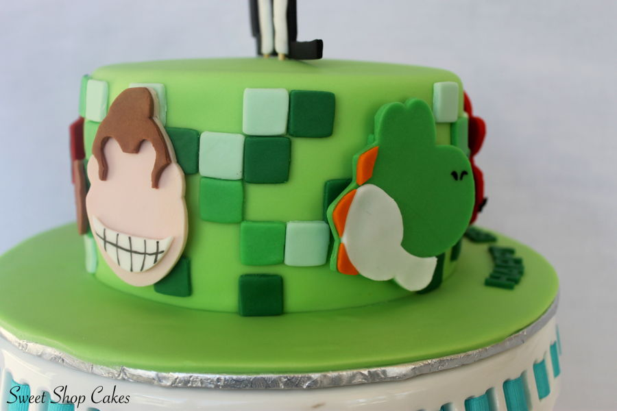 Tremendous Video Game Birthday Cake Cakecentral Com Funny Birthday Cards Online Alyptdamsfinfo