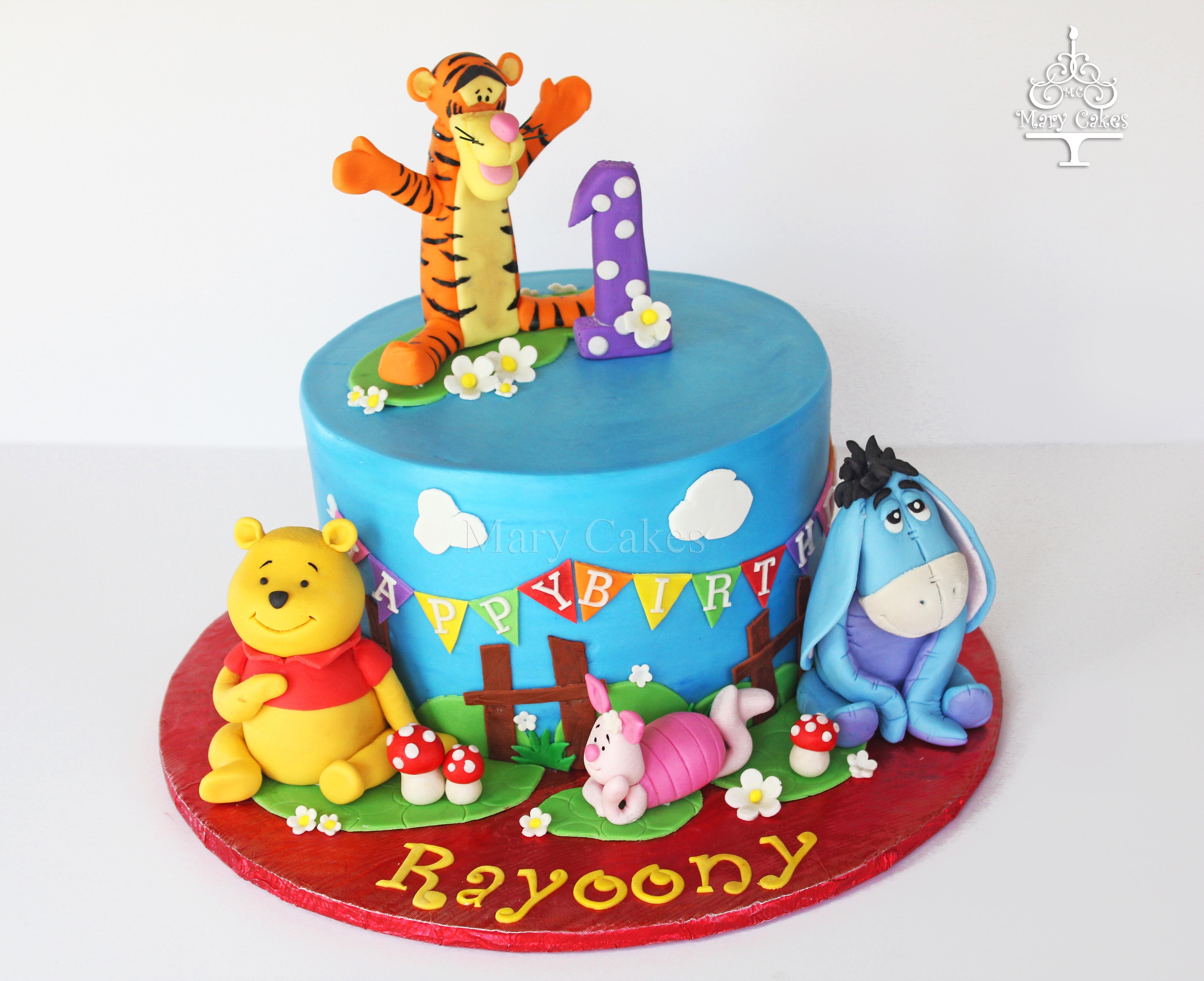 Winnie The Pooh Cake Cakecentralcom