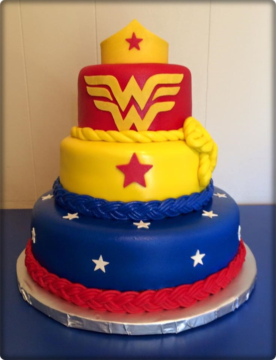 Wonder Woman Birthday Cake Cakecentral