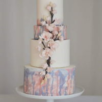 Cherry Blossom Wedding Cake One thing we ALL hate in this industry is last minute orders. We all get them, a client or a customer or a family member calls you a day or...