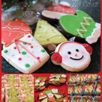 Christmas Cookies Christmas cookies by 2bi Cakes. https://www.facebook.com/2bicakes/posts/935594613188357:0