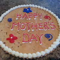 Cookiegram   Giant mother's day cookie. Piped with buttercream