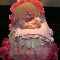 Girl Baby Shower I made this cake for my daughter last Saturday, March 5, 2016.