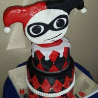 Harley Quinn Birthday cake for a teenager