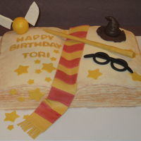 Harry Potter Harry Potter Themed Cake