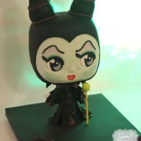 Maleficent Chibi Cake  This was my contribution to this awesome cake collaboration with a group of very talented cake artists. Big thanks to Avalon Cakes for her...