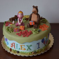 Masha And The Bear for little Alex