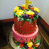 Mayun Cake two tiered cake for a mayun event