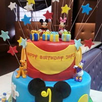 Mickey Mouse Clubhouse 1st birthday