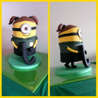 Minion Armature Cake This Minion is playing field hockey